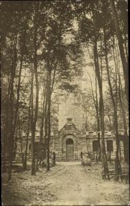 Ak Bad Münder am Deister, Nordmannsturm, Eingangsportal