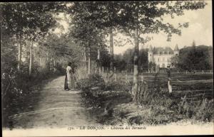 Ak Le Donjon Allier, Chateau des Bernards