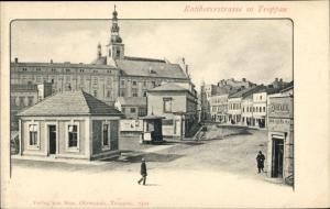 Ak Opava Troppau Region Mährisch Schlesien, Ratiborerstraße, Friedrich Zohner