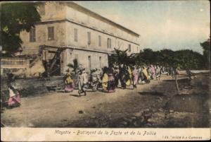 Ak Mayotte Batiment de la Poste et de la Police