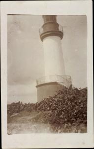 Foto Ak Guadeloupe, Leuchtturm
