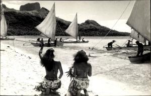 Ak Tahiti Ozeanien, Strand, Segler