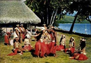 Ak Tahiti Ozeanien, Groupe de danse Paulina et Salomon