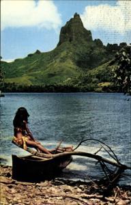 Ak Tahiti Ozeanien, Moorea, plage de Pao Pao