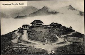 Ak Mafulu Papua Neuguinea, Catholic Mission station 1911