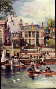Künstler Ak Richmond London, Town Hall, Tuck 6251