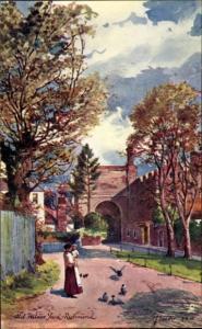 Künstler Ak Richmond London, Old Palace Yard, Tuck 6251