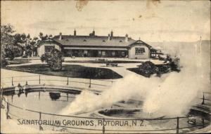 Ak Rotorua Neuseeland, Sanatorium Grounds