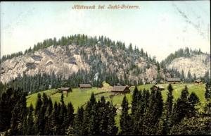 Ak Bad Ischl in Oberösterreich, Hüttenecke