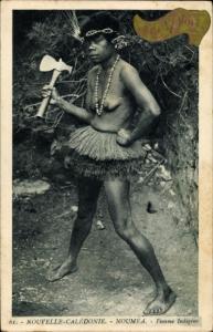 Ak Noumea Neukaledonien, Femme Indigene
