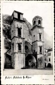 Ak Kotor Cattaro Montenegro, Katedrala sv. Tripun