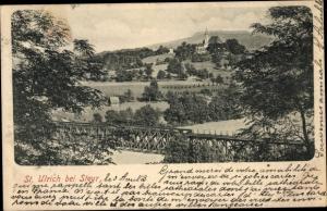 Ak Sankt Ulrich bei Steyr Oberösterreich, Gesamtansicht