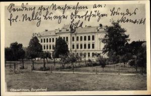 Ak Oberschützen im Burgenland, Ortspartie