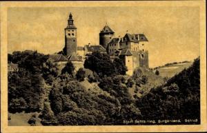 Ak Stadtschlaining Városszalónak Burgenland Österreich, Schloss