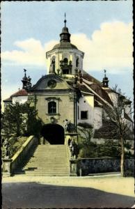 Ak Eisenstadt im Burgenland, Kalvarienbergkirche mit Haydngrab