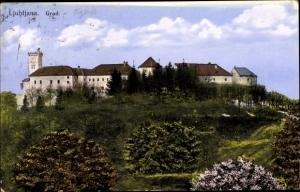 Ak Ljubljana Laibach Slowenien, Grad