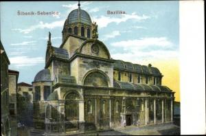 Ak Šibenik Kroatien, Bazilika
