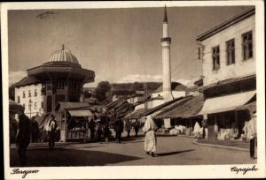Ak Sarajevo Bosnien Herzegowina, Capajebo, Bascarsija