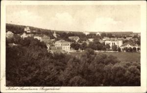 Ak Bad Sauerbrunn im Burgenland, Panorama