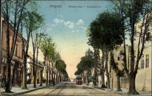 Ak Belgrad Beograd Serbien, Konakgasse