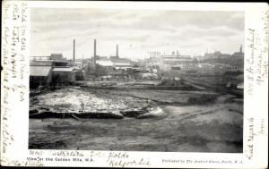 Ak Australien, View of the Golde Mile, Goldfelder