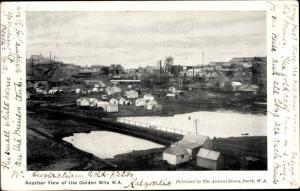 Ak Australien, View of the Golden Mile, Goldfelder