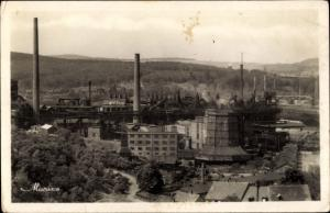 Ak Neunkirchen im Saarland, Eisenwerk