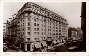Ak London, Exterior of Strand Palace Hotel