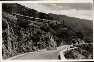 Ak La Guaira in Venezuela, Drive and Railway to Caracas