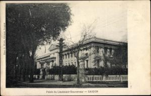 Ak Saigon Cochinchine Vietnam, Palais du Lieutenant Gouvernour