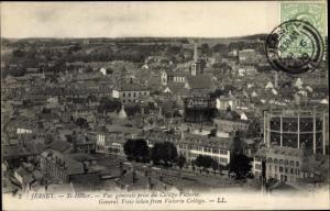 Ak Heliers Jersey Kanalinseln, Vue generale, College Victoria