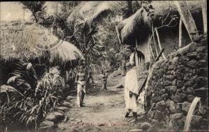 Ak Colombo Sri Lanka, Native Huts