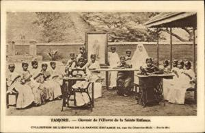 Ak Tanjore Thanjavur Indien, Ouvroir de l'Oevre de la Sainte Enfance