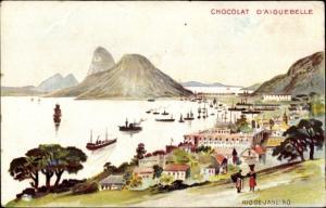 Künstler Ak Rio de Janeiro Brasilien, Vista geral