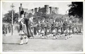 Ak Inverness Schottland, Kilts and Tartans, Schloss