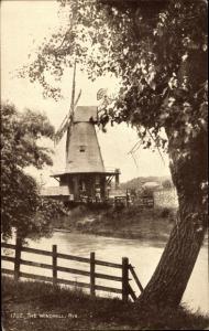 Ak Rye East Sussex, The Windmill, Rye