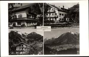 Ak Marquartstein im Chiemgau, Pension Café Wessnerhof, Haus Moritz