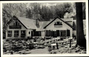Ak Bad Nenndorf an der Weser, Mooshütte