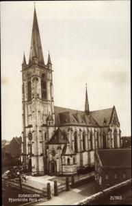 Ak Euskirchen Nordrhein Westfalen, Pfarrkirche Herz Jesu