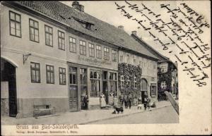 Ak Bad Salzdetfurth in Niedersachsen, Restaurant Deutscher Kaiser