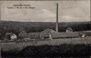 Ak Lechstedt Bad Salzdetfurth in Niedersachsen, Ziegelei