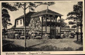Ak Burgwedel Niedersachsen, Gaststätte Würmsee