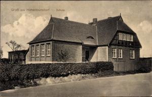 Ak Hohenbünstorf Natendorf in der Lüneburger Heide, Schule