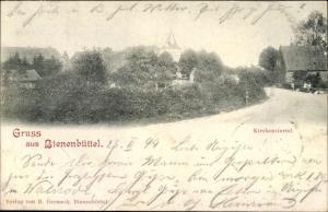 Ak Bienenbüttel Lüneburger Heide, Kirchenviertel
