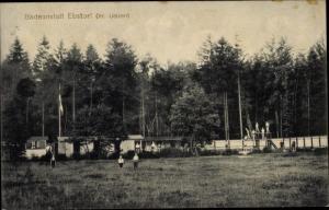 Ak Ebstorf in der Lüneburger Heide, Badeanstalt
