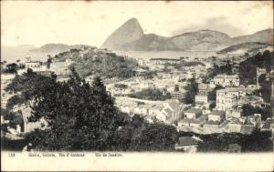 Ak Rio de Janeiro Brasilien, Gloria, Cattete, Pao d'Assucar, Zuckerhut