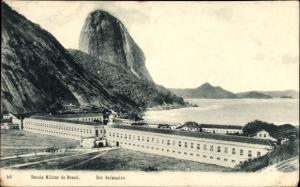 Ak Rio de Janeiro Brasilien, Escola Militar do Brasil