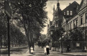 Ak Hildesheim in Niedersachsen, Sedanstraße, Kinder, Briefkasten