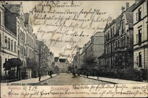 Ak Hannover in Niedersachsen, Holscherstraße