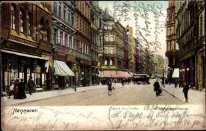 Ak Hannover in Niedersachsen, Grupenstraße, H. Bielefeld,